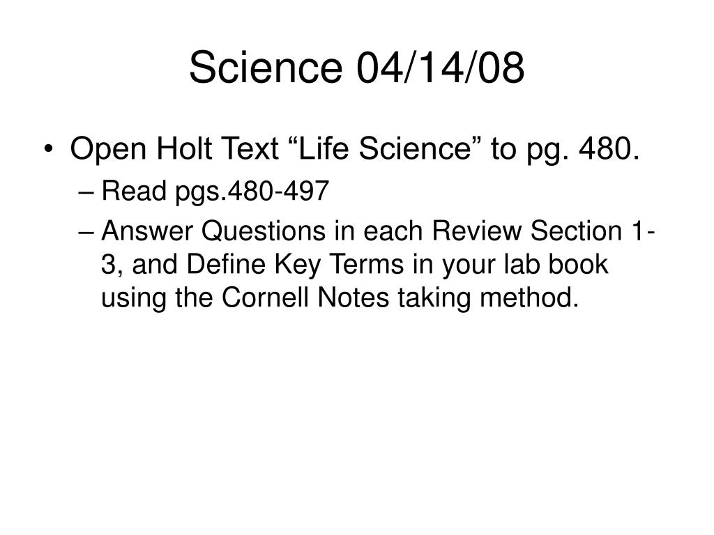 Science 04/14/08