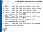 icd 9 cm new codes effective 1 october 200919
