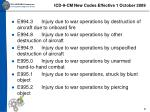 icd 9 cm new codes effective 1 october 200921