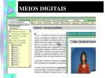 meios digitais
