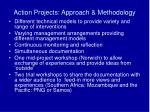 action projects approach methodology