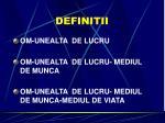 definitii