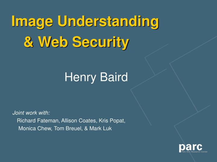 image understanding web security n.