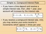 simple vs compound interest rate