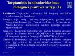 tarptautinis bendradarbiavimas biologin s vairov s srityje 1