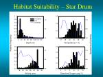 habitat suitability star drum