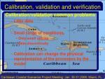 calibration validation and verification26