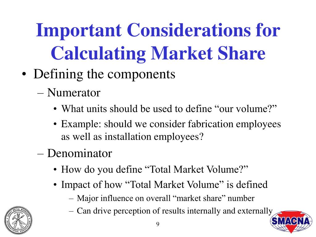 Important Considerations for Calculating Market Share