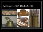 aleaciones de cobre