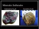 minerales sulfurados