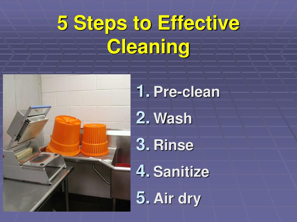 5 Steps to Effective Cleaning