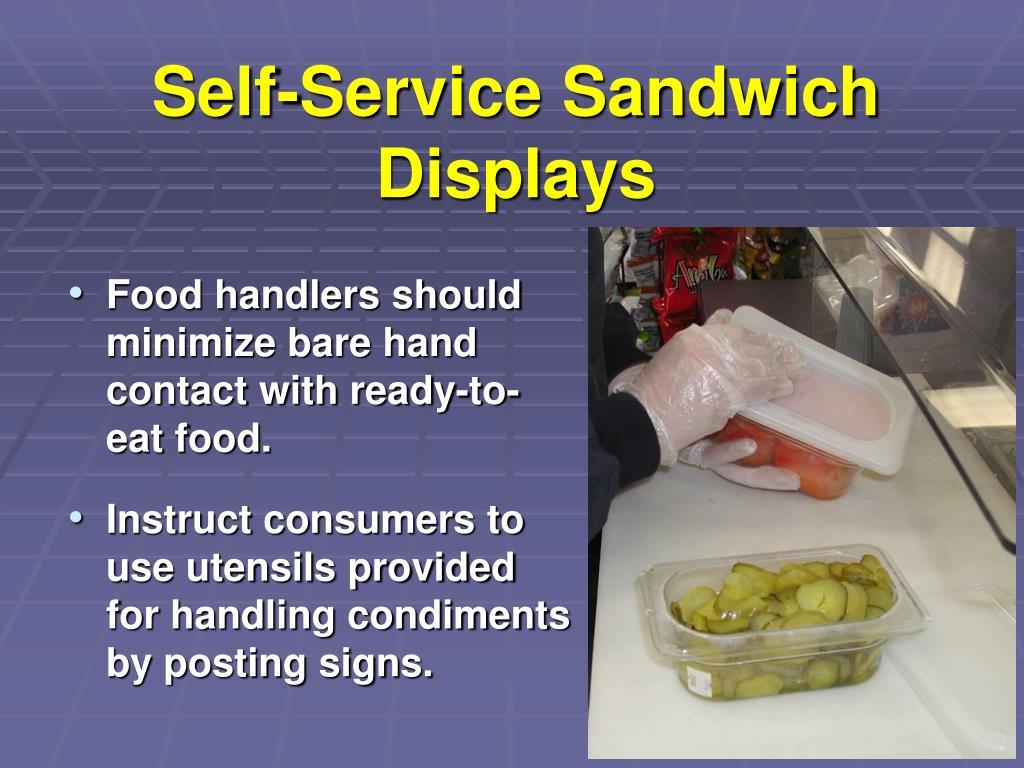 Self-Service Sandwich Displays