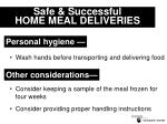 safe successful home meal deliveries17