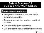 safe successful sub sandwich sales13