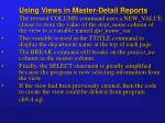 using views in master detail reports2