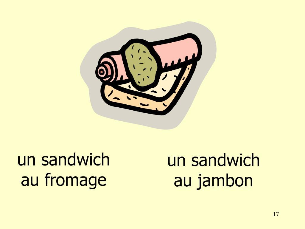 un sandwich