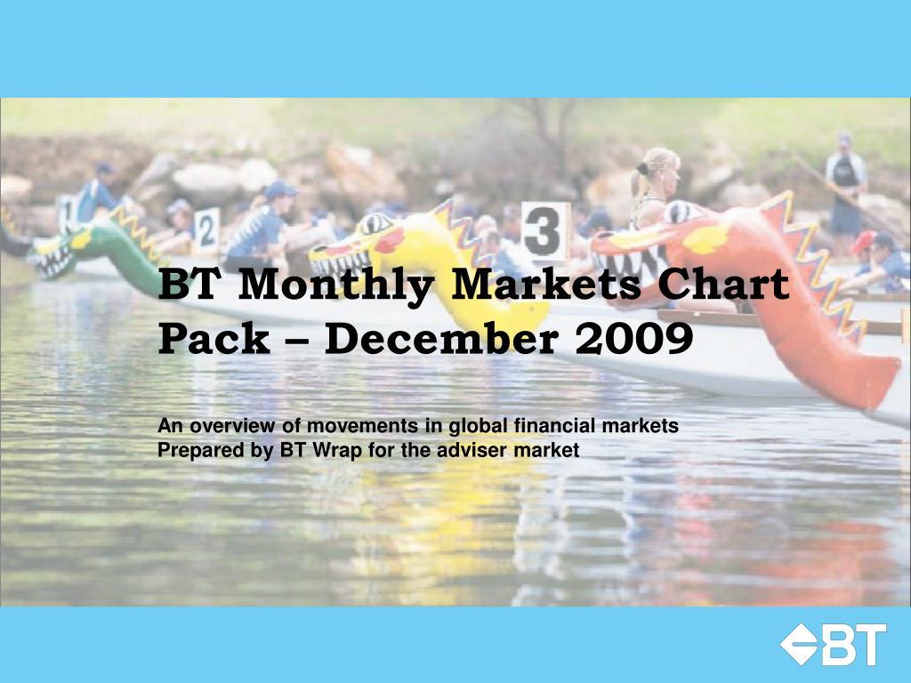 bt monthly markets chart pack december 2009 l.