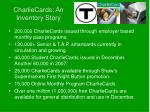 charliecards an inventory story