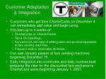 customer adaptation integration