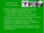 promotion communication