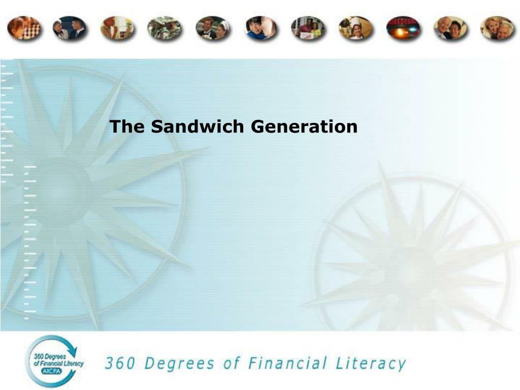 the sandwich generation l.