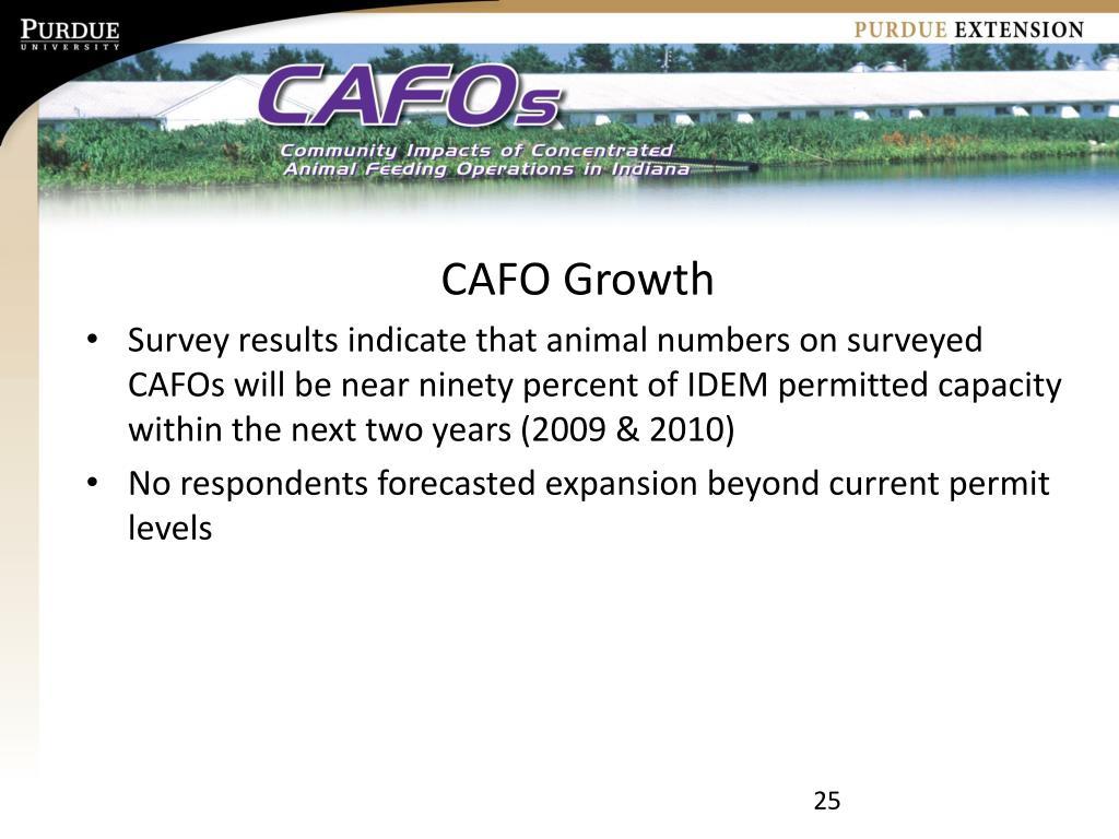 CAFO Growth
