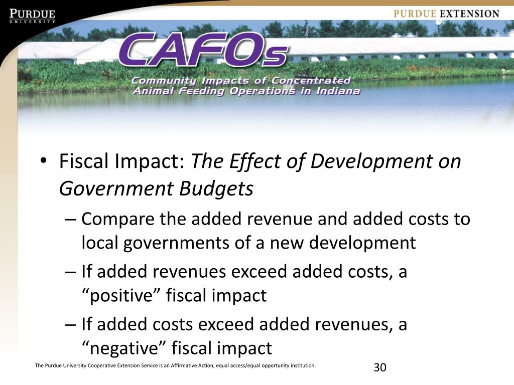 Fiscal Impact: