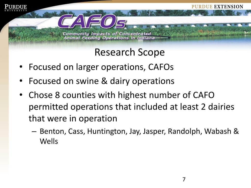 Research Scope