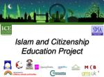 islam and citizenship education project
