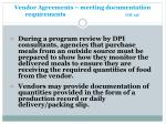 vendor agreements meeting documentation requirements gm 13c17