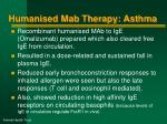 humanised mab therapy asthma2