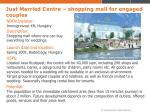 just married centre shopping mall for engaged couples