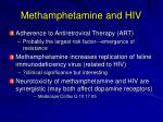 methamphetamine and hiv135