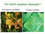 for which soybean diseases6