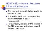mgnt 4333 human resource information systems