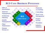 sap r3 components
