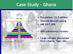 case study ghana