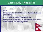 case study nepal 2