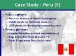 case study peru 5