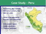 case study peru