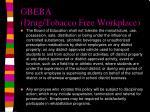 gbeba drug tobacco free workplace