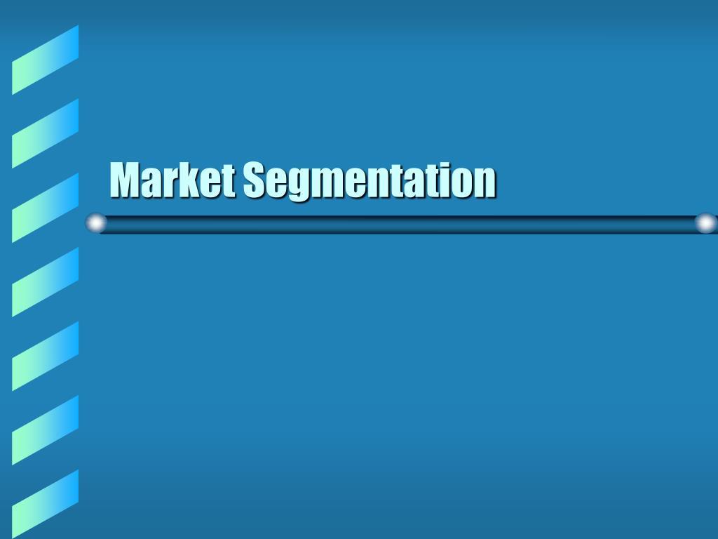 market segmentation l.