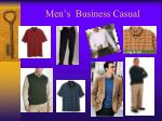 men s business casual