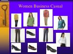 women business casual