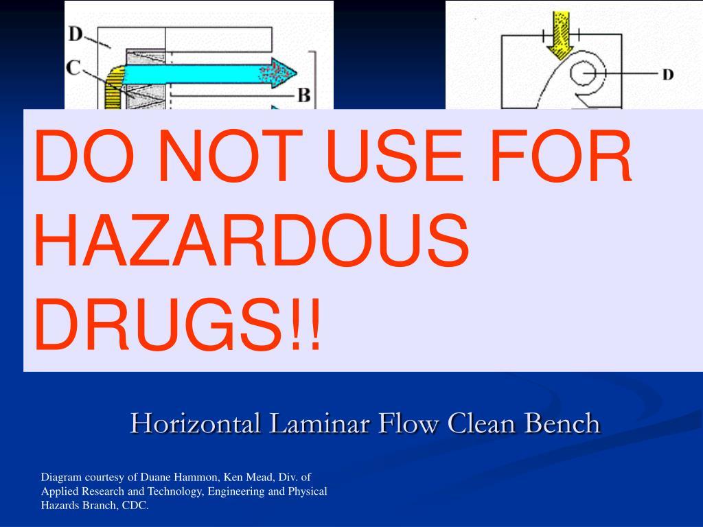 Horizontal Laminar Flow Clean Bench