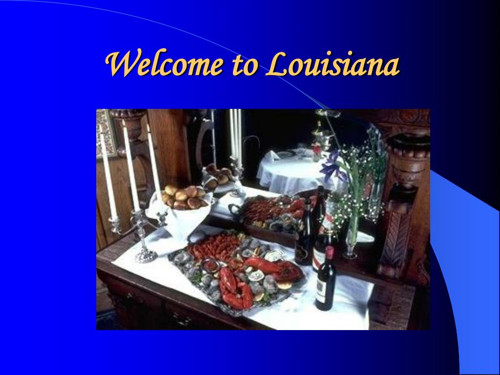 welcome to louisiana l.