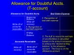 allowance for doubtful accts t account23