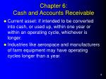 chapter 6 cash and accounts receivable2