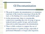 gi decontamination