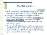 mental status21